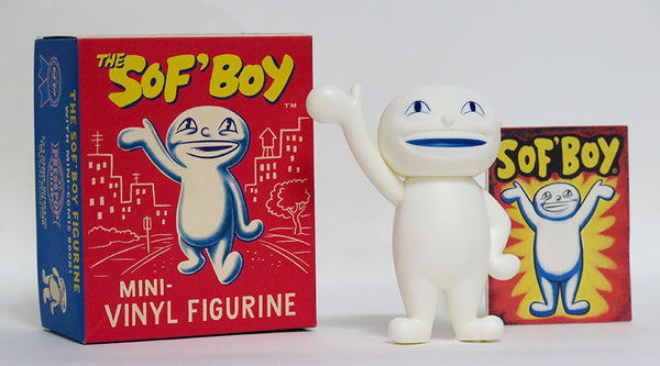 "ARCHER PREWITT ""MINI SoF'Boy FIGURINE AND BOOK"""