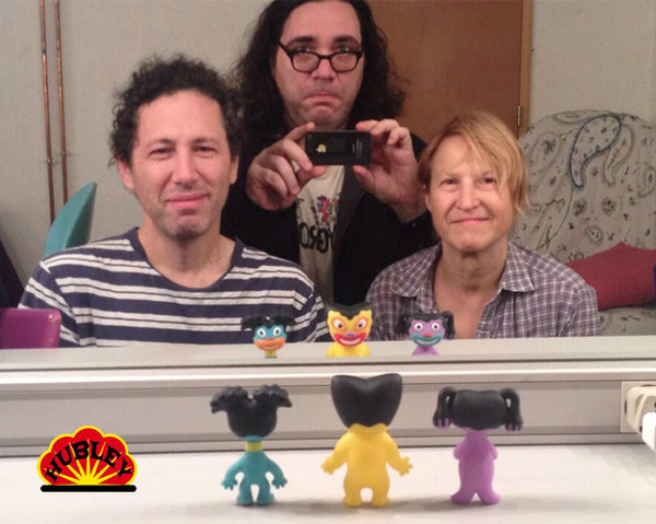 Yo La Tengo TREE Soft vinyl dolls + DVD set
