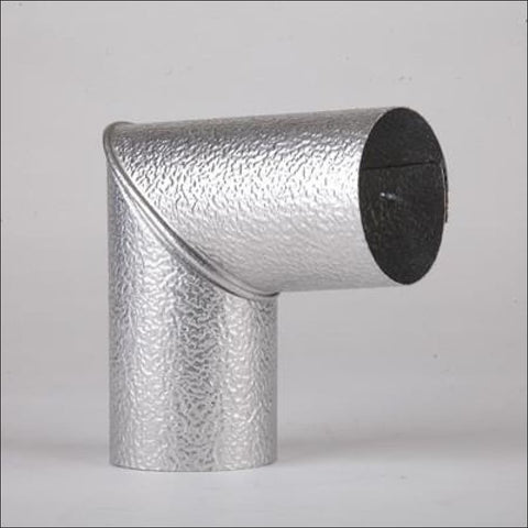 90 Degree Elbow Aluminium Insulation Cladding - Cladding