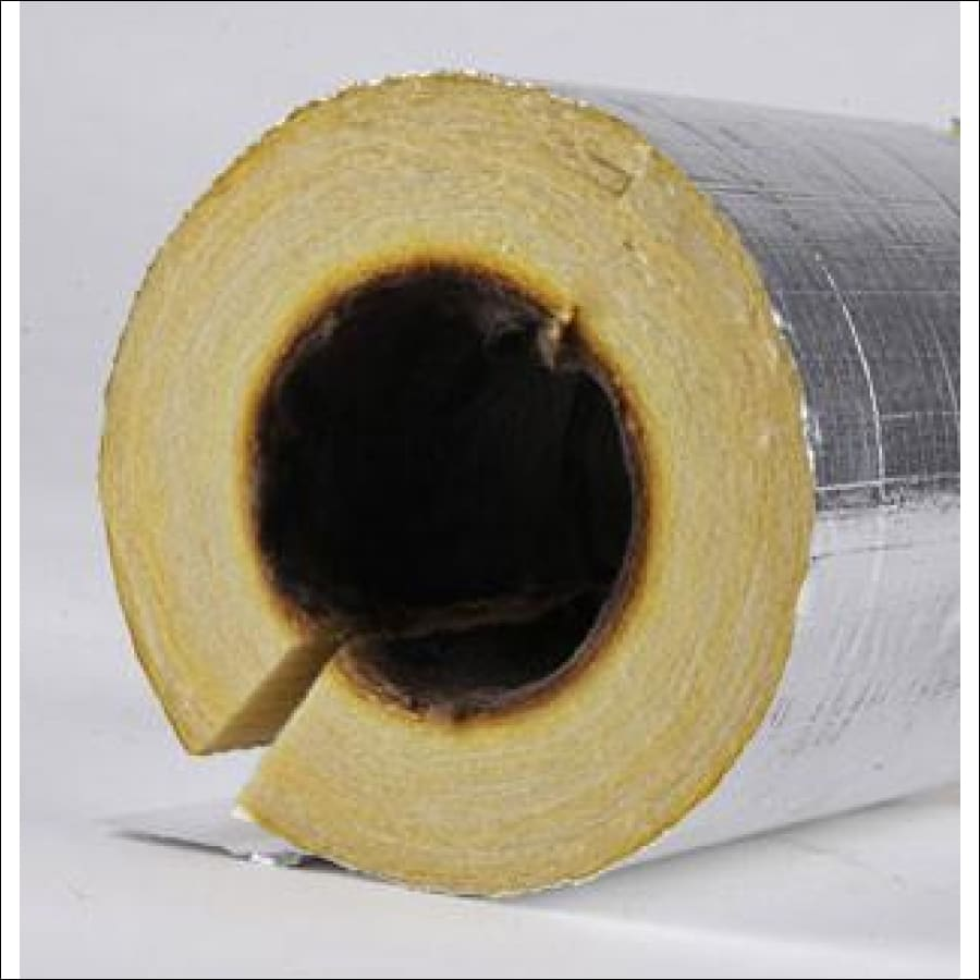 Fiberglass Pipe Insulation/Lagging (Foil Covered) - Pipe Insulation