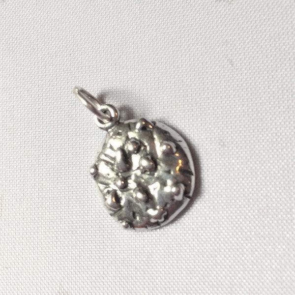 sterling silver chocolate chip cookie charm