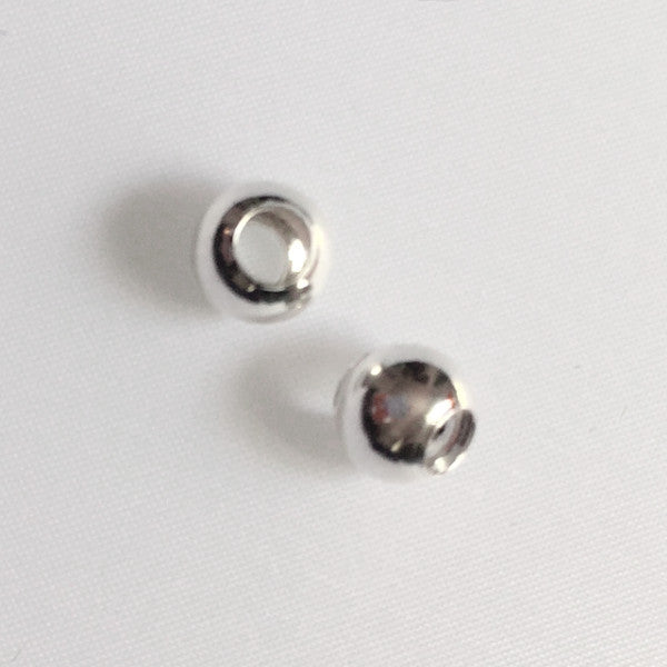 sterling silver spacer beads for charm bracelet