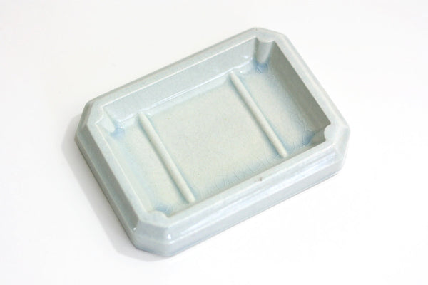 SOLD - Antique Semi-Granite Cook & Hancock Soap Dish
