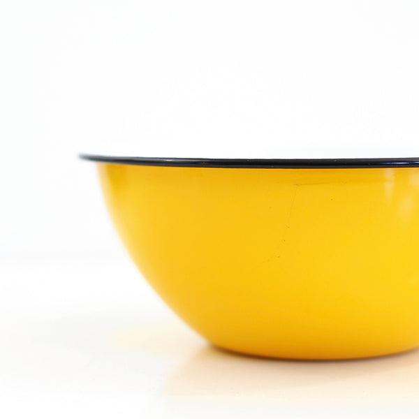 SOLD - Colorful Vintage Enamel Nesting Bowls