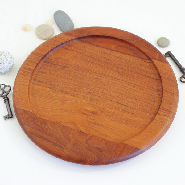Vintage Danish Modern Digsmed Teak Serving Set