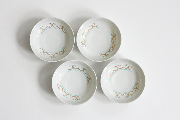 SOLD - Mid Century Modern Cotillion Bowls by Ben Seibel for Iroquois China Co.