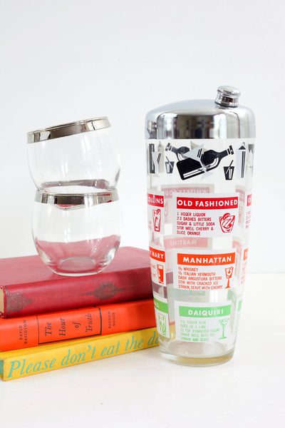 Mid Century Cocktail Recipes Shaker