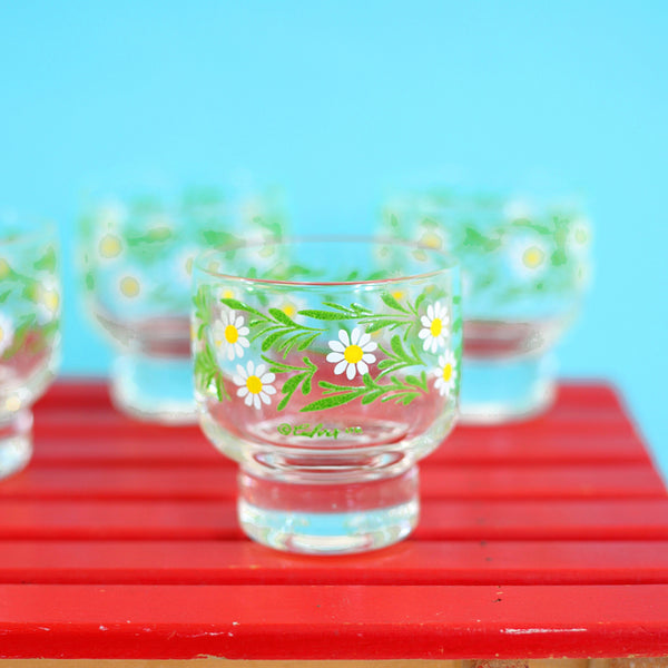 Mid Century Culver Daisy Cocktail Set