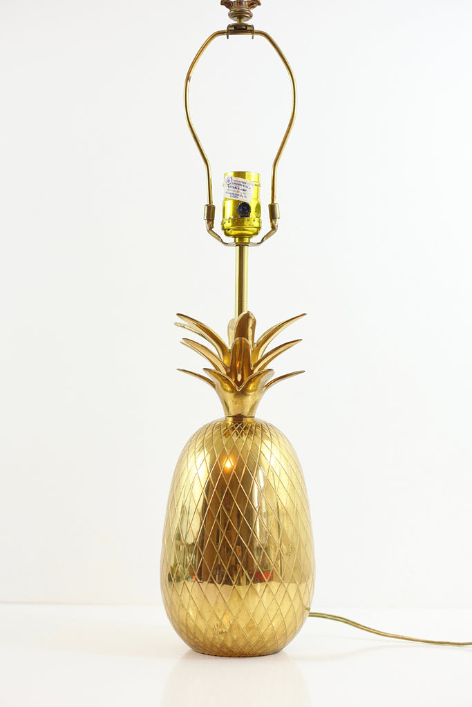 Xl vintage brass pineapple table lamp wise apple vintage xl vintage brass pineapple table lamp aloadofball Choice Image