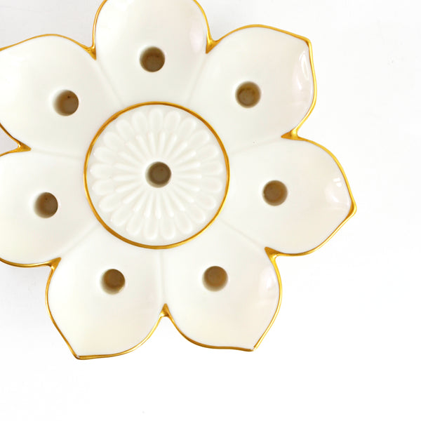 SOLD - Mid Century Lenox Flower Candle Holder