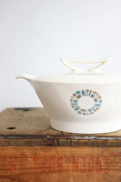 SOLD - Mid Century Modern Temporama Casserole / Vintage Temporama Covered Serving Dish