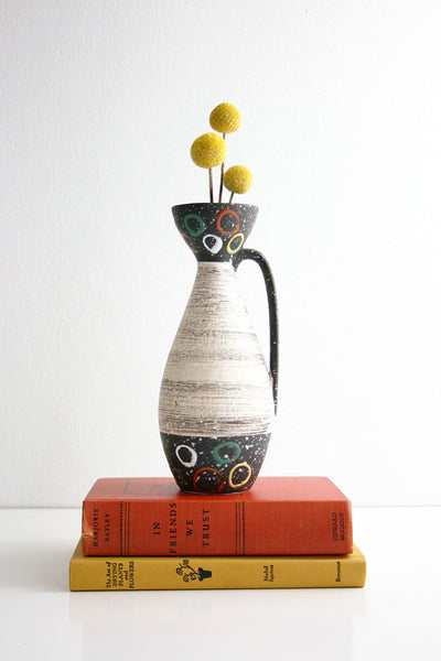 SOLD - Mid Century Modern West German Pottery Vase by Carstens Tönnieshof