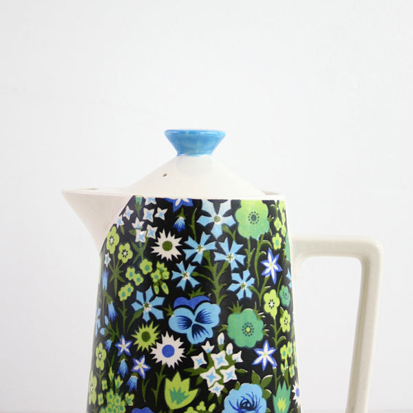 SOLD - Mid Century Napcoware Floral Teapot