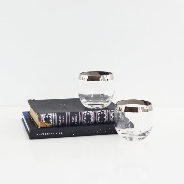 Pair of Mid Century Dorothy Thorpe Roly Poly Glasses