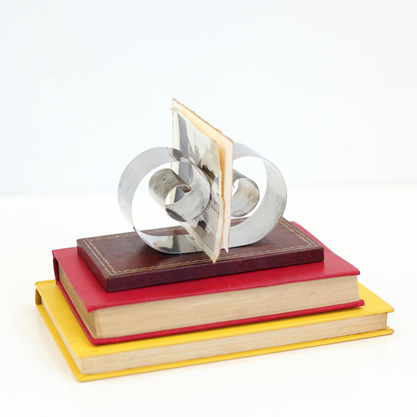 SOLD - Art Deco 'Spring Tite' Coiled Note Holder