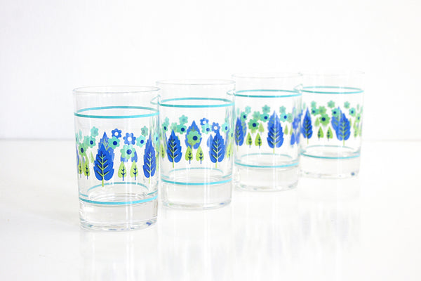 Mid Century Swiss Alpine Juice Glasses