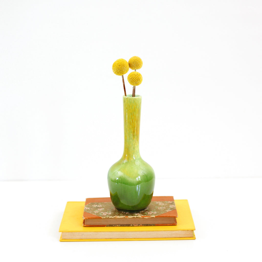 SOLD - Mid Century Green Royal Haeger Bud Vase