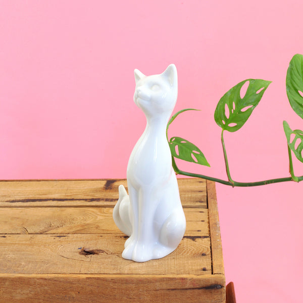SOLD - Mid Century Cat Figurine by OMC Japan