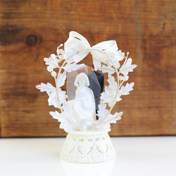 SOLD - Vintage 1950s Wedding Cake Topper