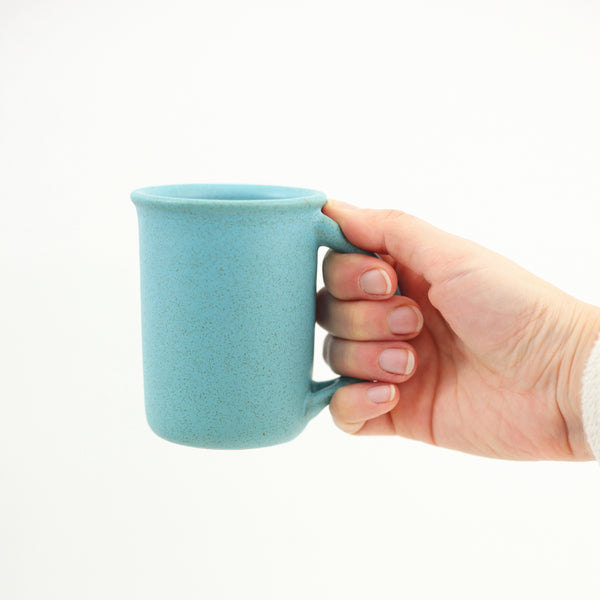 SOLD - Vintage 1967 Bennington Potters Mug with Thumb Rest