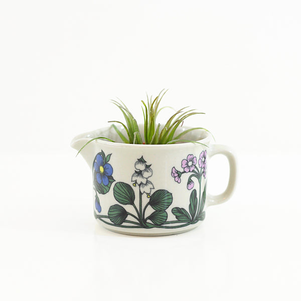 SOLD - Mid Century Arabia Finland Flora Pitcher