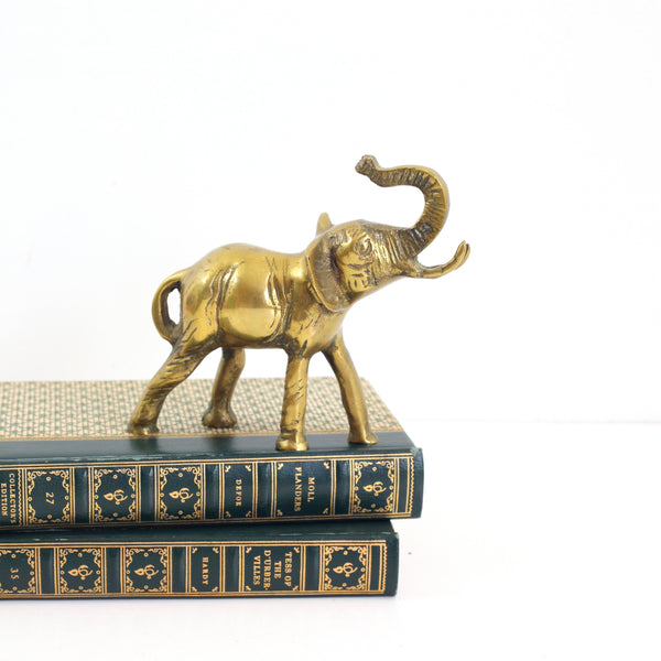 SOLD - Vintage Brass Elephant