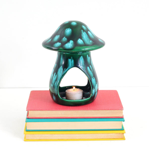 Vintage Ceramic Toadstool Tea Light Holder