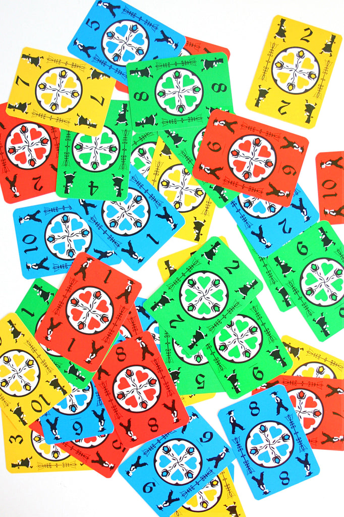 Sold Vintage 1973 Dutch Blitz Card Game Colorful Vintage Family