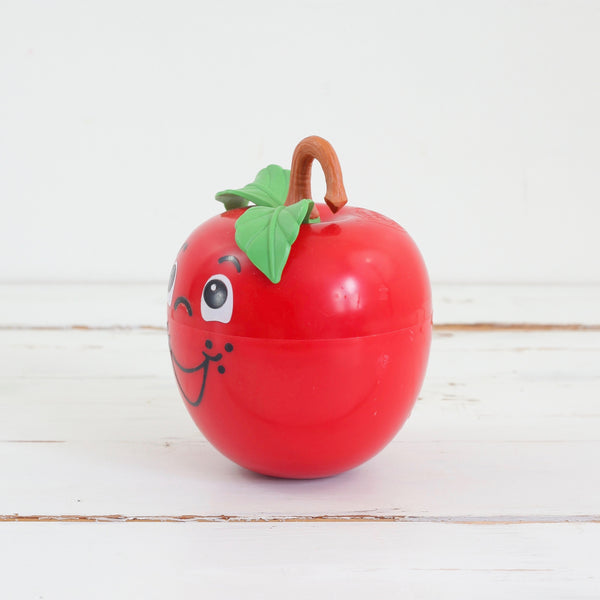 SOLD - Vintge 1972 Fisher-Price Happy Apple Chime Toy