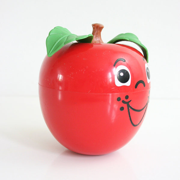 SOLD - Vintage 1972 Fisher-Price Happy Apple Chime Toy