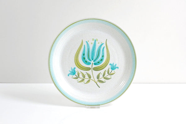 SOLD - Vintage Franciscan Earthenware Tulip Time Dinner Plate