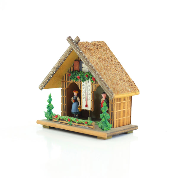 SOLD - Vintage German Weather Cottage