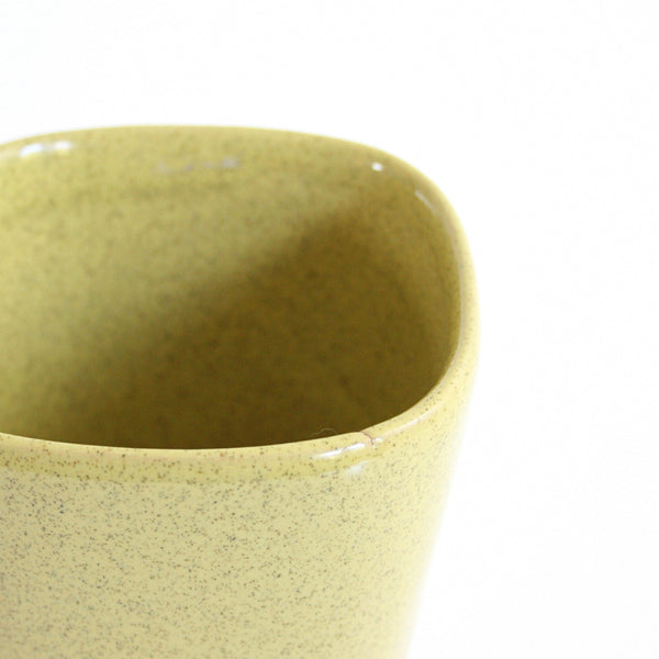 SOLD - Mid Century Glidden Planter in Yellow