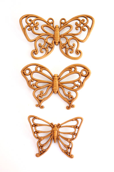 Vintage Butterflies Wall Decor by Homco
