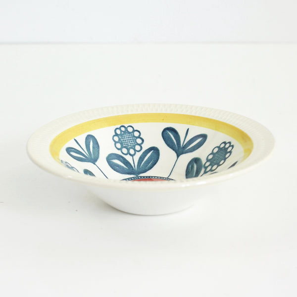 SOLD - Mid Century Kon Tiki Bowl by Inger Waage for Stavangerflint Norway