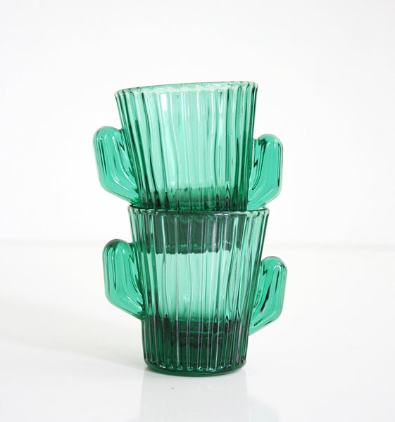 SOLD - Vintage Cactus Shot Glasses by Libbey