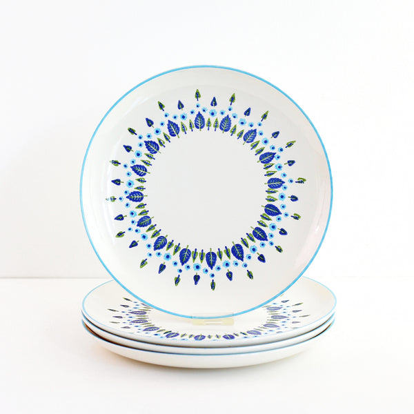 Vintage Swiss Alpine Dinner Plates