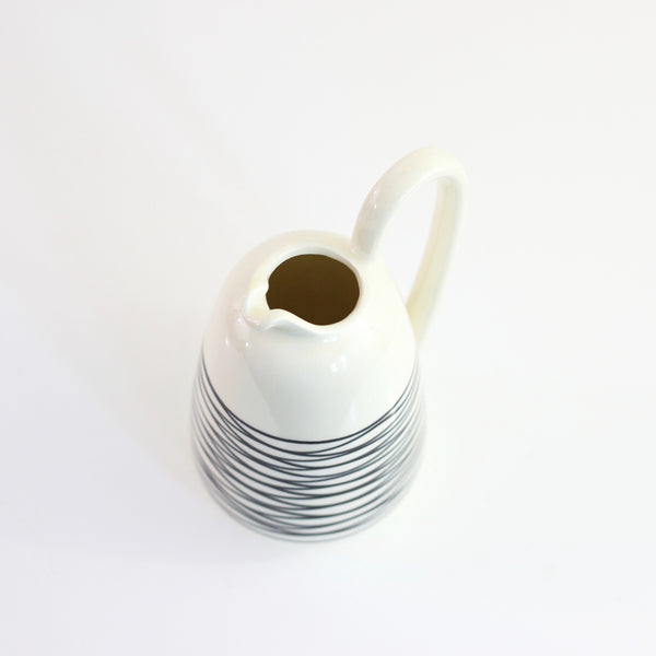 SOLD - Vintage Modernist Haeger Multi Directional Pitcher