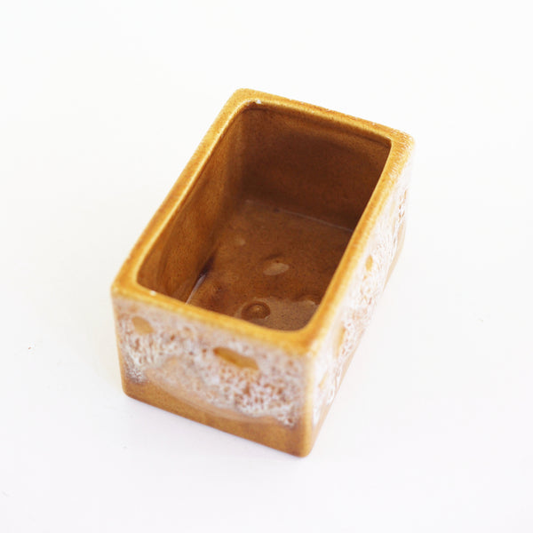 SOLD - Mid Century Mustard Yellow Haeger Planter