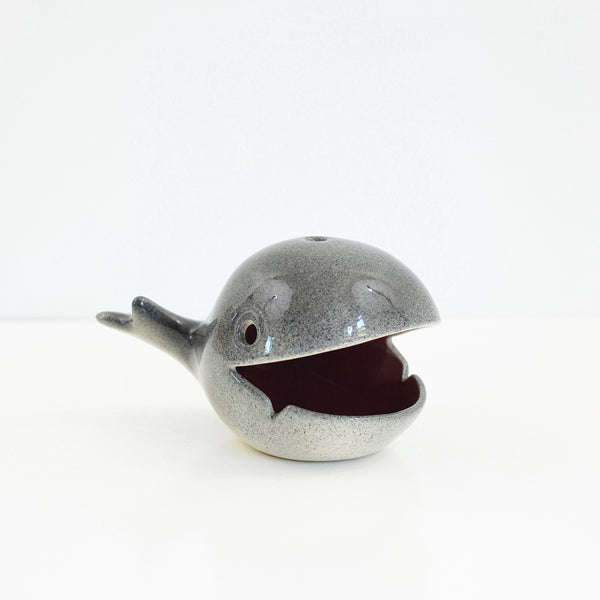 SOLD - Rare Mid Century Old Spouter Nantucket Whale Ashtray