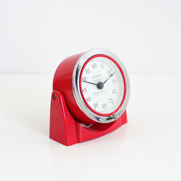 SOLD - Bright Red Vintage Kodak Darkroom Timer
