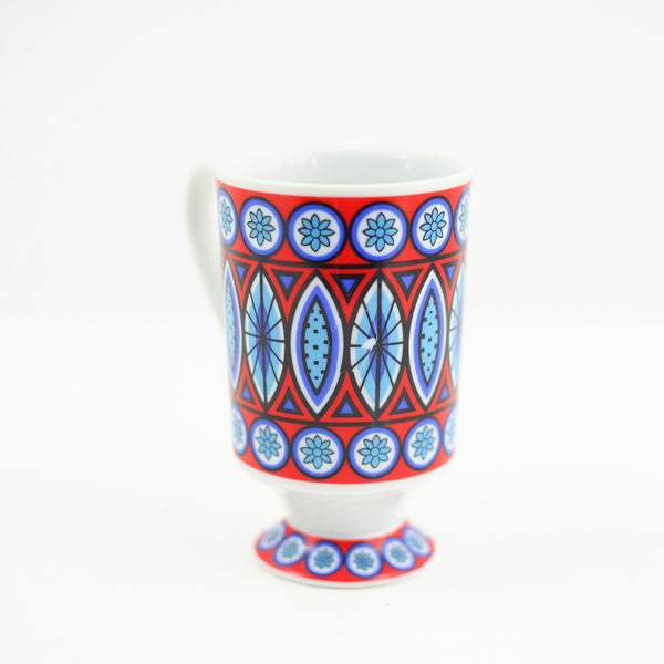SOLD - Vintage Royal Crown 'Samba' Pedestal Mug