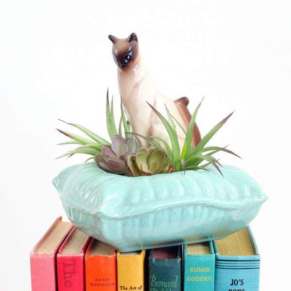 Mid Century Siamese Cat Planter by SNA California