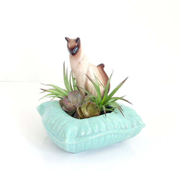 SOLD - Mid Century Siamese Cat Planter by SNA California