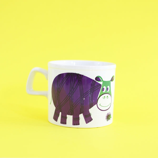 SOLD - Vintage Staffordshire Potteries Hippo Mug