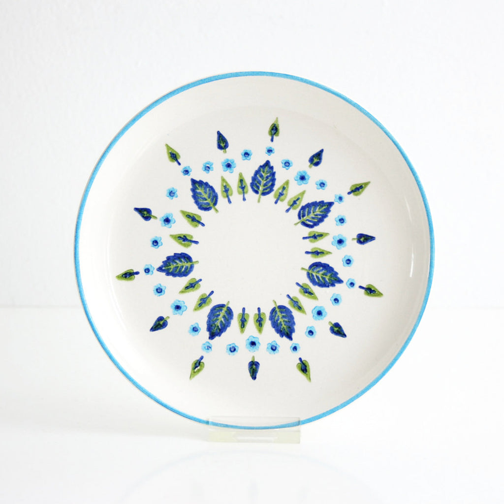 SOLD — Mid Century Swiss Alpine Bread & Butter Plates by Marcrest