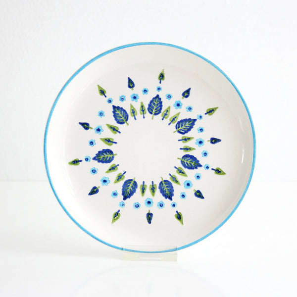 Mid Century Swiss Alpine Bread & Butter Plates by Marcrest