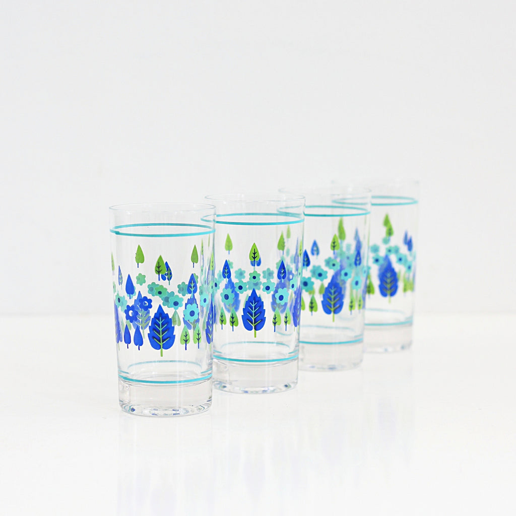 SOLD - Mid Century Swiss Alpine Drinking Glasses