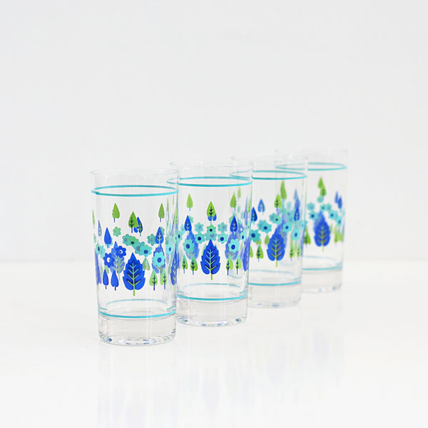 Mid Century Swiss Alpine Drinking Glasses