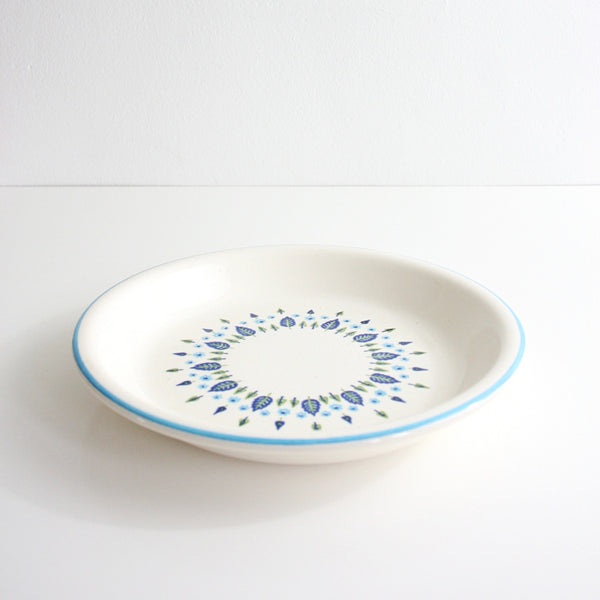 SOLD - Vintage Swiss Alpine Pie Plate / Mid Century Swiss Chalet Pie Dish by Marcrest